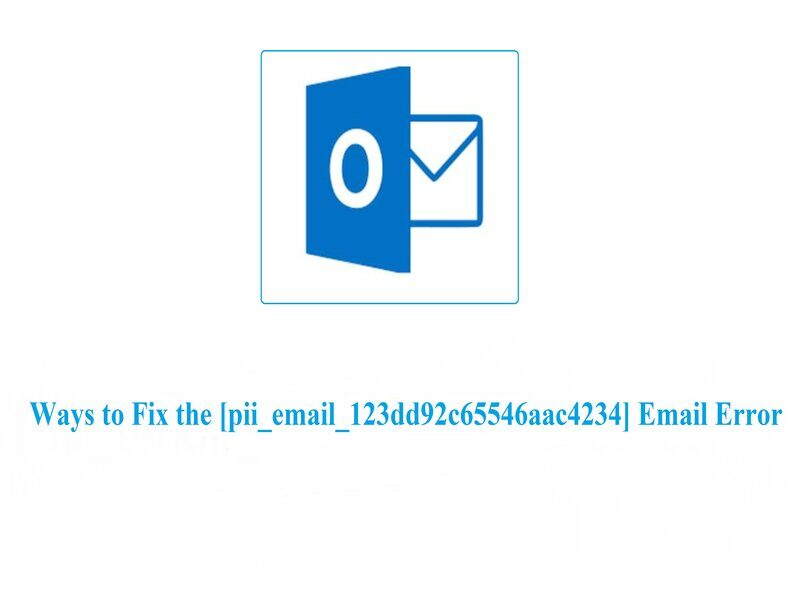Best way to fix [pii_email_123dd92c65546aac4234]